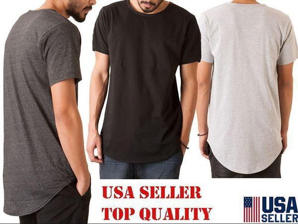 7 Renk Erkekler Rasgele Kısa Kollu O-Boyun High Street Geri paraketalarla T Gömlek On Hip Hop Slim Fit Zipper Wear