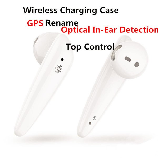 dhl gps rename ap2 ap3 mini tws bluetooth earbuds h1 chip wireless charging case optical in-ear detection pods pk air 2 3 pro i200 i12 i9