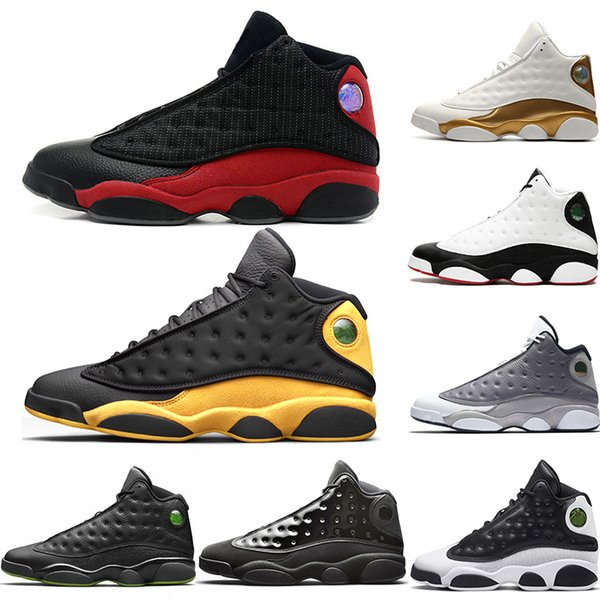 Nike Air Jordan 13 Retro Top 13 13s Uomo Scarpe da pallacanestro Cap and Gown Bred Class of 2003 Atmosphere Grigio Allenatore Sport Designer Athletics Sneakers Taglia 41-47