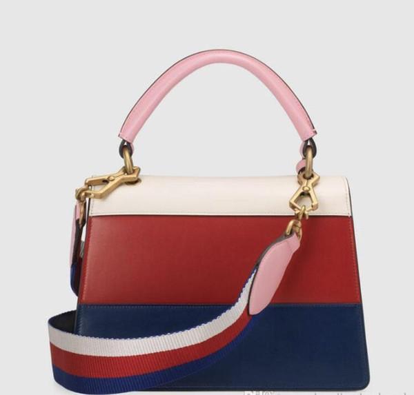 Borsa a tracolla staccabile s305 della borsa di cuoio della serie Margaret della borsa della moda di moda europea e americana