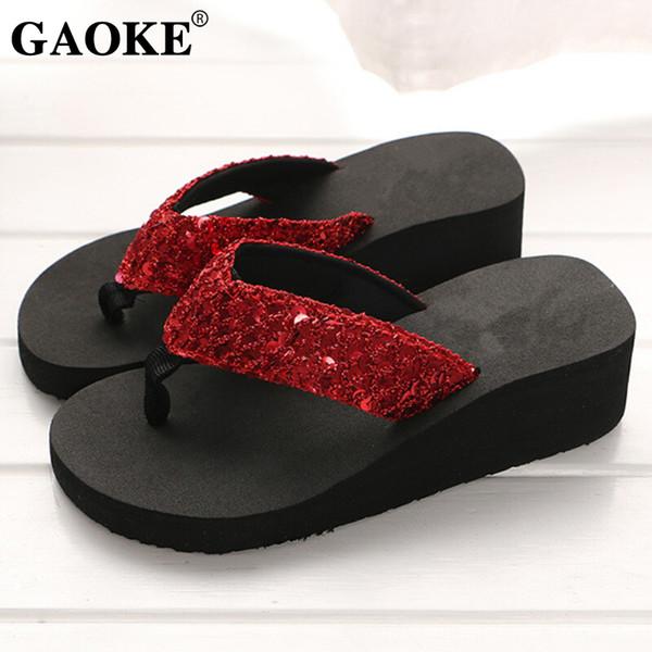 Rhinestone Women Slippers Flip Flops Summer Women Crystal Bling Beach Slides Sandals Casual Shoes Slip On Slipper Bath