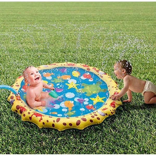 Summer Baby Outdoor Play Toy Water spray Mat Kids Gardon Sports Toys Little Baby Happy Bathing Swimming Pool Game Sprinkler