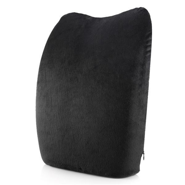 Morbido Memory Foam lombare del cuscino ammortizzatore posteriore di sostegno della vita Back Massager per Sedie Seggiolino Auto Cuscini Home Office Alleviare il dolore