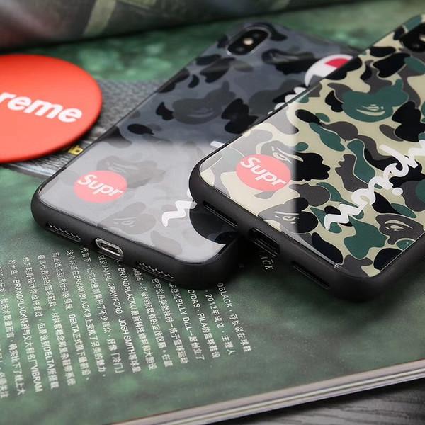 Оптовая Мужчины Женщины Горячий Дизайнерский Телефон Чехол для IPhone X 6 / 6S 6 плюс 7/8