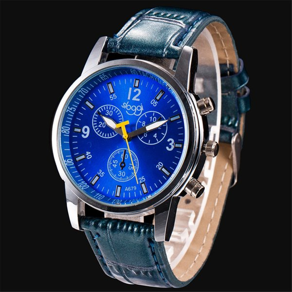 2019 men watches multifunctional luxury quartz stainless steel case watches casual business wristwatches relogio masculino, Slivery;brown