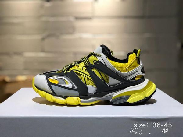 2019 Fashion Paris 3.0 17FW Triple-S Sneaker Тройной Повседневная обувь папа для Мужских женщин Бежевый Ceahp спорта кроссовки Размер 36-45