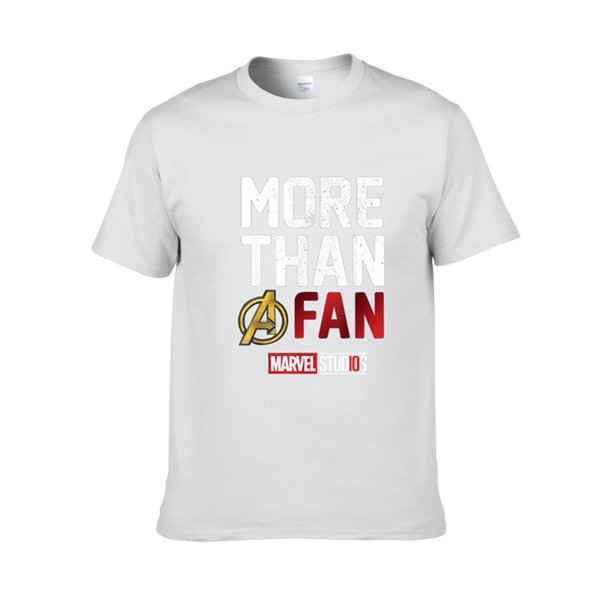 2019 Nouvelle Mode MARVEL T-Shirt Hommes Coton Manches Courtes Casual T-shirt Homme Marvel T Shirts Hommes Femmes Top Tees Tees Livraison Gratuite H5