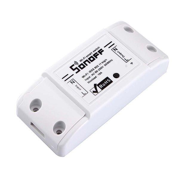 SONOFF Basic Wireless Wifi Переключатель удаленного модуля автоматизации управления DIY Таймер Универсальный Smart Home 10A 220V AC 90-250V