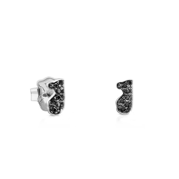 NEW 100% 925 Sterling Silver Cute Bear Earrings Inlaid Cubic Zirconia Simple Gorgeous Women's Original Jewelry Gift Recommended 614933520