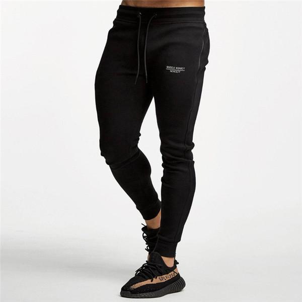 2018 Pants for Men Pants Fitness Workout Trouser size