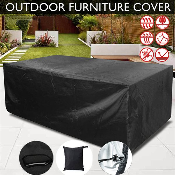 Rainproof Patio Furniture.2019 Waterproof Outdoor Bbq Table Chair Cover Garden Patio Furniture Cover Anti Dust Rain Proof Bbq Accessories From Jenmor 50 23 Dhgate Com