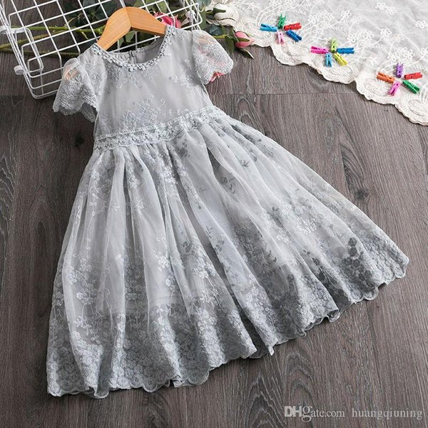 2019 Girl Frocks Children Clothes Girls Kids Fluffy Cake Smash Dress Casual Wear Baby Clothing Birthday Outfits Girl Vestidos 3 6 8 Years