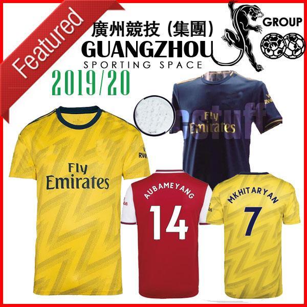 19 20 camisetas de fútbol Arsen casa rojo de primera calidad nuevo 2019 de distancia camisetas de fútbol amarillo tercer azul oscuro maillots de foot jersey camisetas