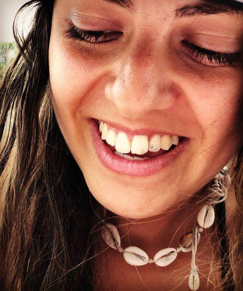 Stylish Bohemian Summer Beach Vibes BOHO Sea Shells Handmade Pendant Chain Choker Necklace Surfer Girl Gemstone Party Jewelry