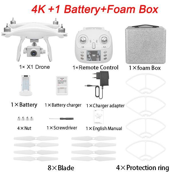 4K 1B Foam Box