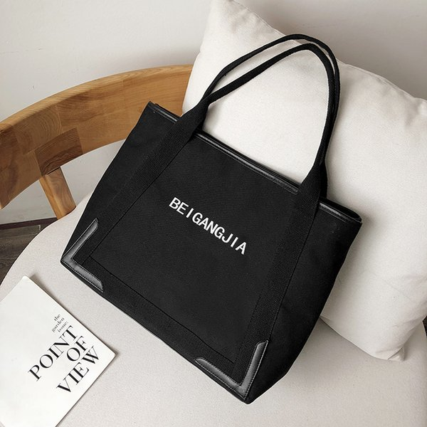 2019 Canvas Wide Strap Trapeze Women Purses And Handbags Winter Women Canvas Crossbody Bag Designer Wing Shoulder Tote Bagsxuanhe/9