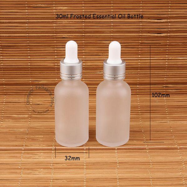 Gla 30ml e ential oil bottle fro ted dropper pot 1oz women co metic container 30 gram amplete t jar