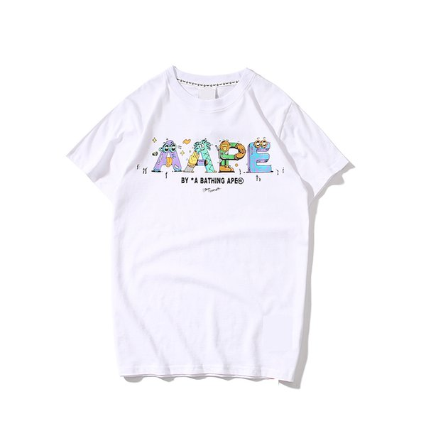 Women T Shirt with Brand Short Sleeve Round Neck Without Hat Luxury Women T Shirt Men Women Cute Lively Casaual Shirts
