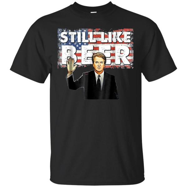 Черная футболка мужчин, по-прежнему, как пиво судья команды бретт кавано подтвердить Scotus мужчины женщины унисекс мода футболка бесплатная доставка