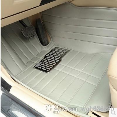 Custom car floor mats for Audi A1 A3 A4 A5 A6 allroad A7 A8 A8L Q3 Q5 Q7 car-styling foot case rugs carpet anti-slip liners