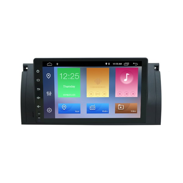 9inch Android 9.0 DSP Car DVD Video Player For BMW E39 X5 M5(1996-2007) 2 Din DVD WIFI Bluetooth Auto Radio Stereo Player