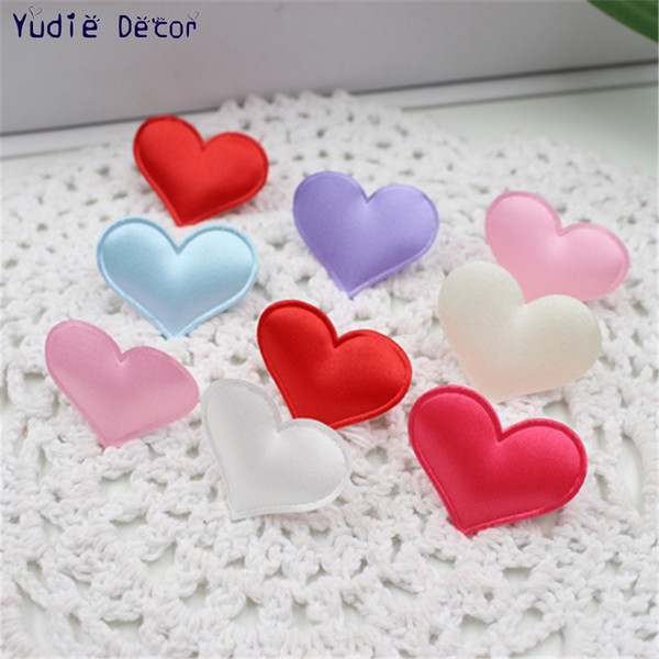 100pcs/lot artificial medium cloth Love for DIY wedding car Marriage room party Valentine's Day art decoration scrapbooking