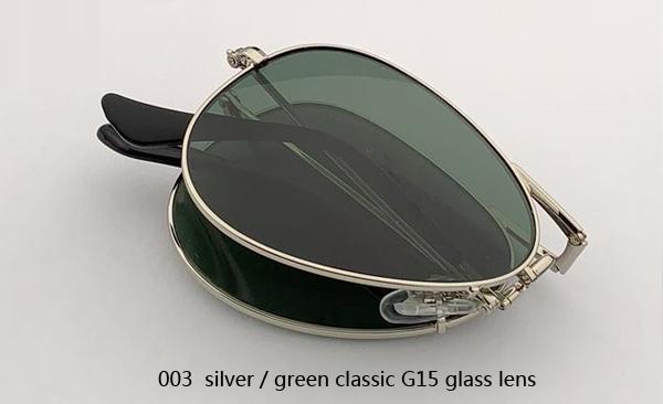 003 الفضة / الأخضر الكلاسيكي G15