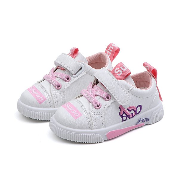 Kids Casual Shoes Hook & Loop Leather Flats for Boys Girls Comfort Outdoor Sneakers Small and Medium Children Soft Bottom Casual Sandals