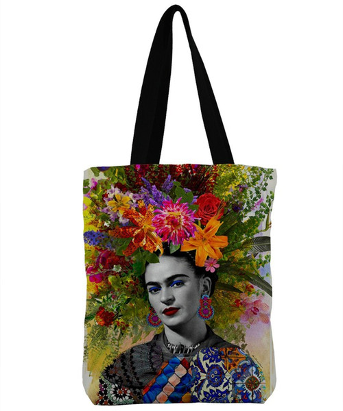 Designer ZHBSLWT3D Print Design Beach Bags For Female Single Shoulder Shopping Bag Casual Women Canvas Tote Handbag Big