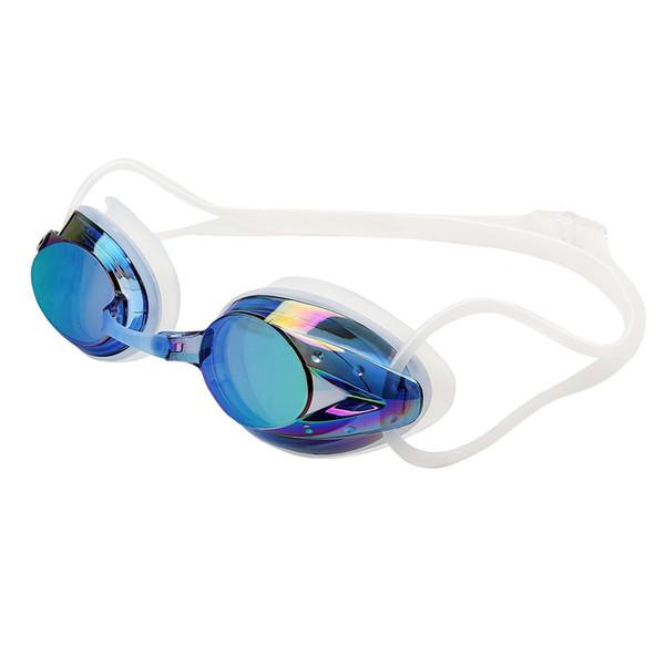 Dazzle Sports Swim Occhiali Acqua Occhiali colorati tipi all'aperto piscina strumenti Impermeabili morbidi Adulti Regolabile Swimwear Tappi per le orecchie QQA441