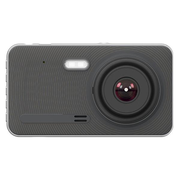 Камера 4 дюйма IPS экран Автомобильный видеорегистратор FHD 1080P с камерой заднего вида Ультра-тонкий стиль Ночная версия
