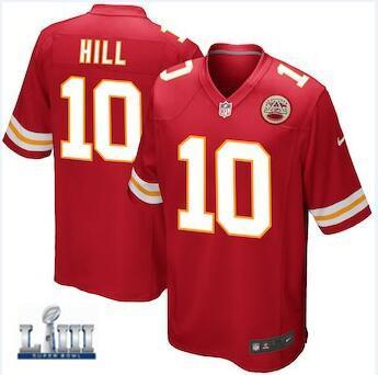 best service c0ec4 cdde3 2019 Tyreek Hill Chiefs Jersey Patrick Mahomes Pro Super Bowl LIII Travis  Kelce Vapor Untouchable Color Rush Custom American Football Jerseys 4xl  From ...