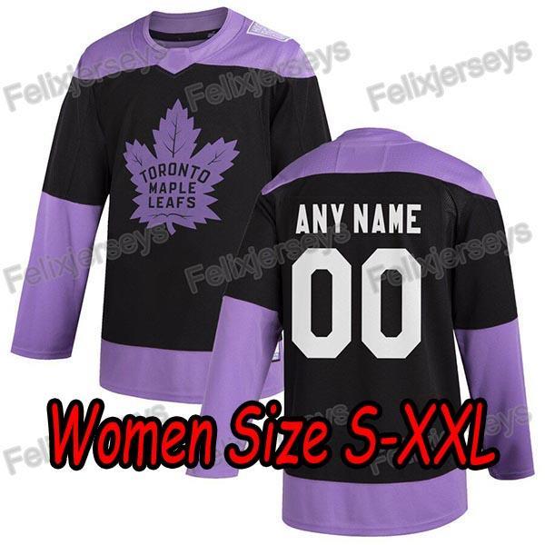 Black Purple Women: Size S-XXL