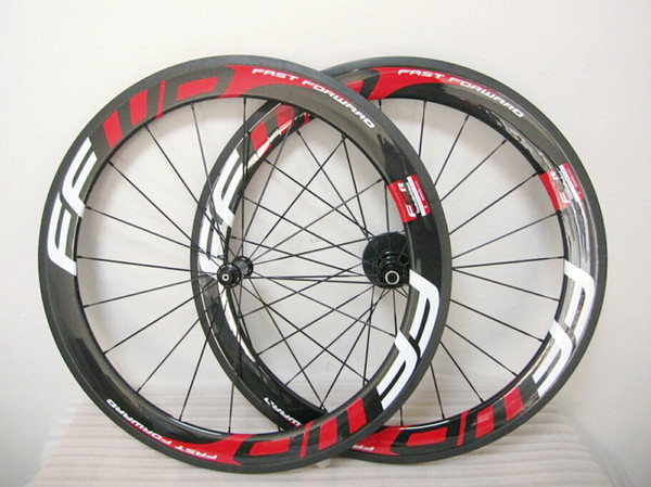 RED FFWD F6R wheelset 60mm Powerway fast forward carbon bicycle wheels carbon road wheelset clincher/tubular