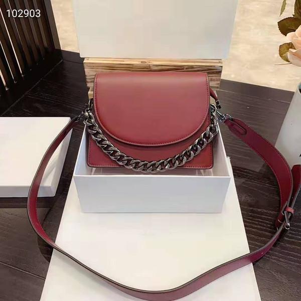 sacs à main designer de rose sac à bandoulière marque sacs à main de luxe en cuir de femmes véritable 2019 nouvelles 5colors messenger Sac à bandoulière à l'épaule de style