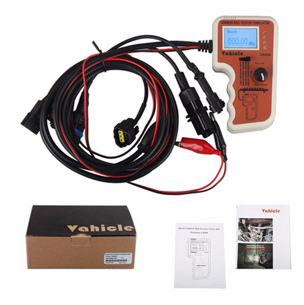 Diagauto Diesel CR508 Common Rail Pressure Tester and Simulator by Rail Pressure Tester CR 508 LCD Screen with Factory Price