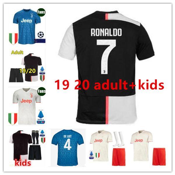 Nouveaux maillots de football pour adultes de qualité supérieure 2019 2020 19 20 maillot de foot maillot de foot maillot de foot kits avec chaussettes