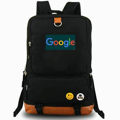 Sac à dos pour le moteur de recherche Google sac à dos G meilleur ordinateur portable cartable Sac à dos de loisir Sac de sport en forme de journée
