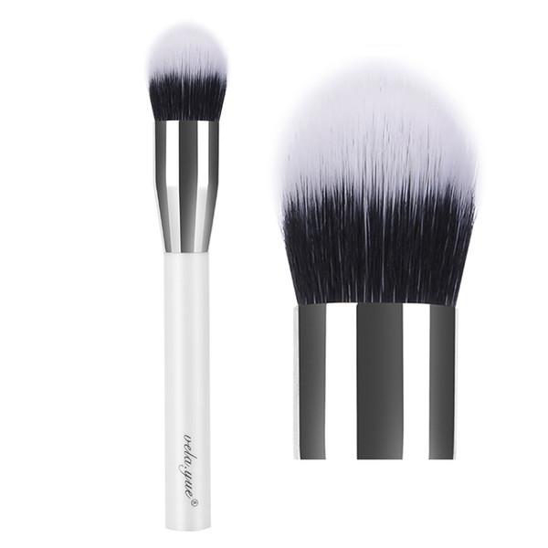 vela.yue Duo Fibre Stippling Brush Tapered Foundation Makeup Brush Multipurpose Powder Bronzer Blusher Highlighter Contouring Make Up Tool