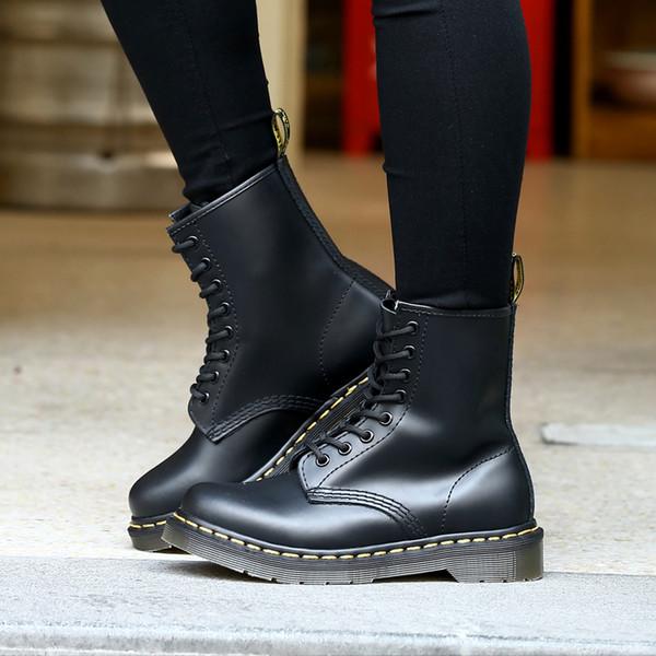 Deri Erkekler ayak bileği Çizmeler Rahat Ayakkabılar Moda açık kışlık Botlar Erkekler Için Yüksek Üst Su Geçirmez el yapımı dikiş Kış kar
