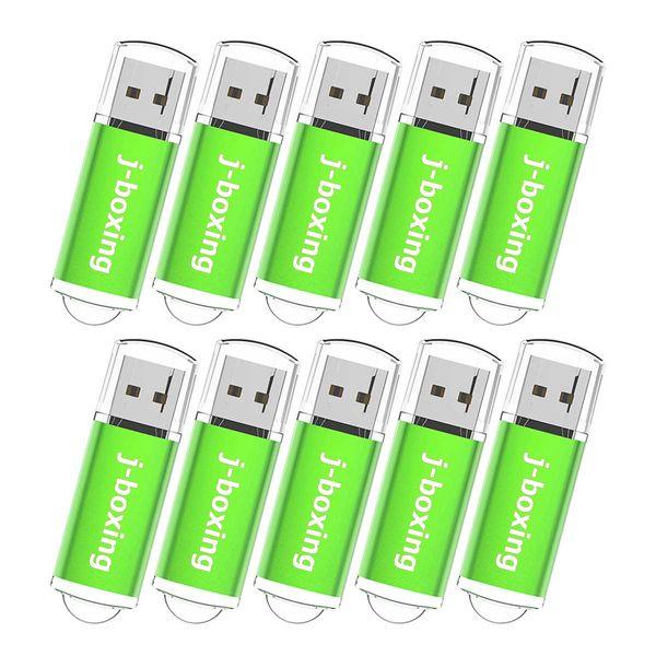 10PCS USB-Flash Drive USB 2.0 Memory Stick Memory Drive Pen Drive rot 512 MB