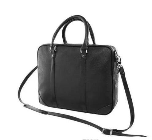 2019 new Men Briefcase New Soft Leather Handbags Men'S Casual Travel Bag Shoulder Messenger Crossbody Bags Man Laptop Computer Case m3632018