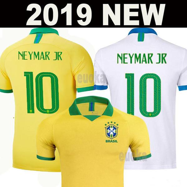 2019 Brazil American Cup football team jersey men jersey VINICIUS FIRMINO football jersey women's World Cup custom football kids shirt kit