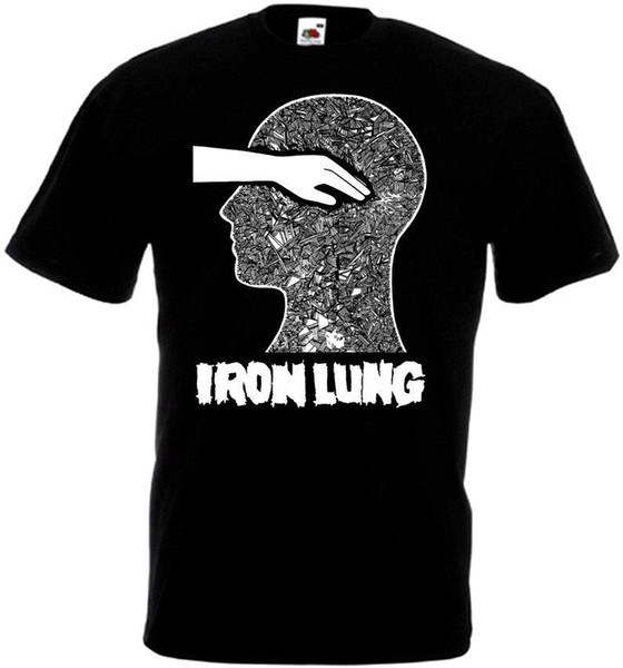 Iron Lung v3 T-shirt black hardcore punk powerviolence all sizes S-5XL Funny free shipping Unisex Casual Tshirt