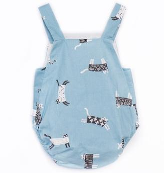 #2 Suspender Baby Rompers