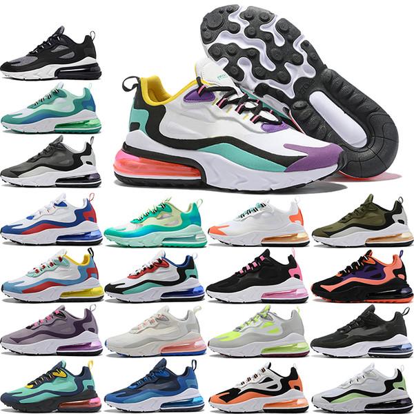 best selling Best quality men women 27C React Fly Running shoes American Modern Black Hyper pink Light Beige Chalk Hyper Jade Mesh mens women sneakers