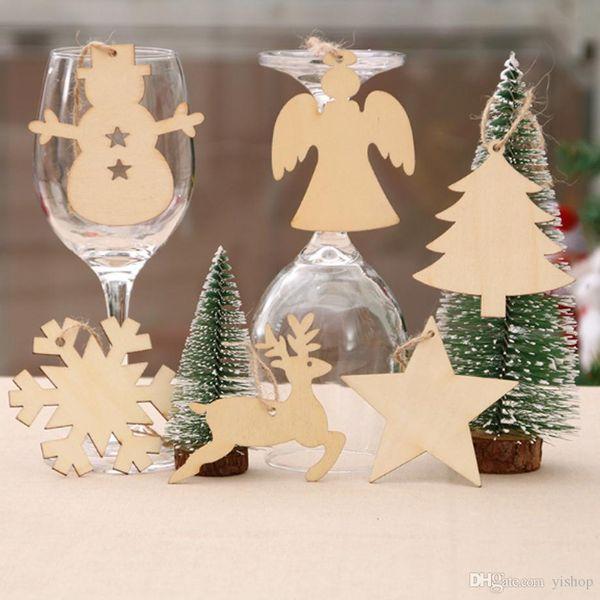Deer Xmas Christmas Tree Gift 10Pcs Pendant Ornaments Decoration Hanging