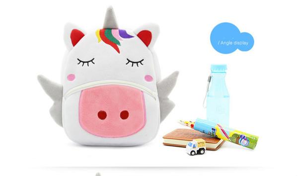 Sacchetto di scuola per bambini Spalle Zaino per animale da scuola materna Unicorno Bambino prima infanzia Alleviate l'eccesso di borsa
