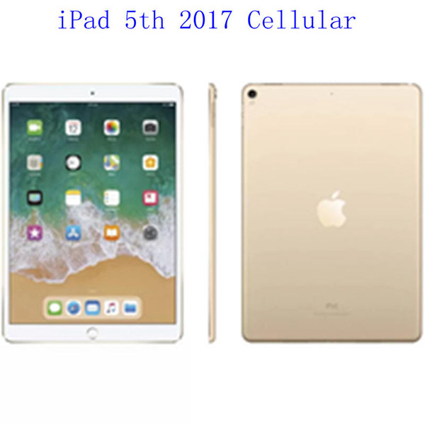 "best selling Original Refurbished Apple iPad 2017 wifi+Celluar iPad 5th Touch ID 9.7"" Retina Display IOS A9 refurbished Tablet Wholesale DHL"