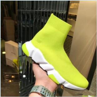 Luxury Sock Shoes Casual Shoe Speed High Quality Speed Trainer Sock Race Runners black Shoes men and women fz19050108